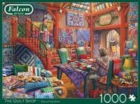 The Quilt Shop - 1000 Pieces |Yorkshire Jigsaw Store
